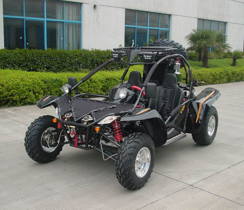 Equipped with front and rear independent A arm suspension, you can ...